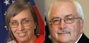 Democrat Linda Small and Republican Ron Miller are vying for the 28th state Senate district seat in a March 18 special election.