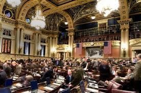 Action on proposed constitutional amendments to downsize the House and Senate was delayed until Sunday.