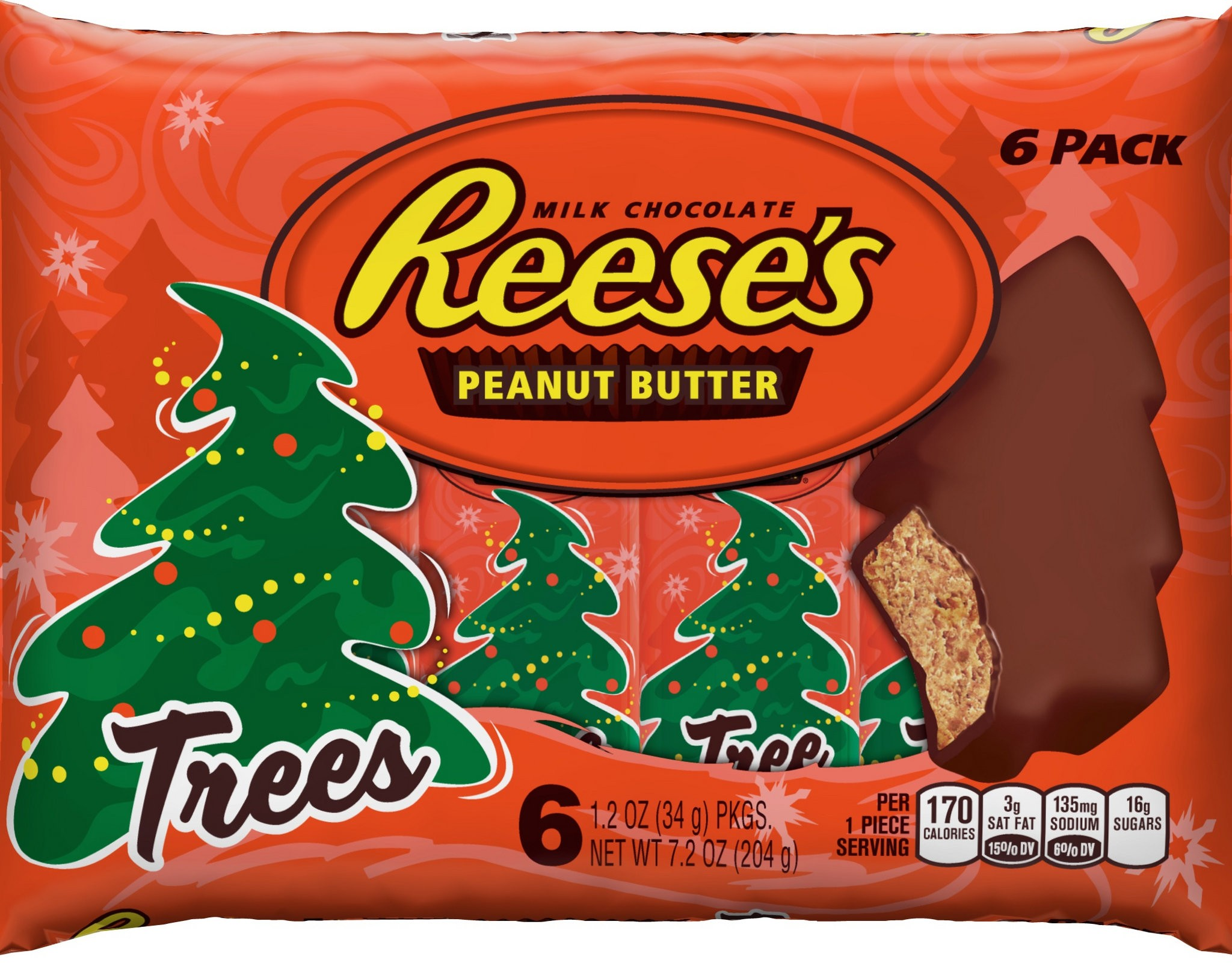 Reese's Peanut Butter Cup trees are too blob like for some