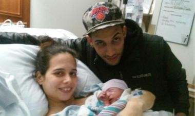 Jose Luis Anaya with parents Luis Anaya and Lizbeth Munoz