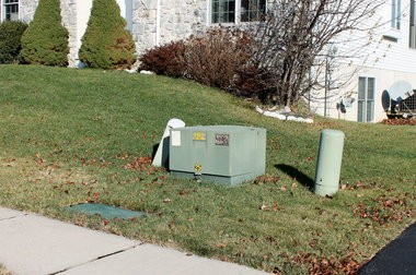 An example of a transformer box.