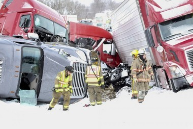A dozen ambulances and rescue units and four helicopters have been dispatched to a fatal crash on I-78 in Bethel Township, Lebanon County near Route 22. At least three people are dead, many more trapped. Daniel Zampogna, PennLive