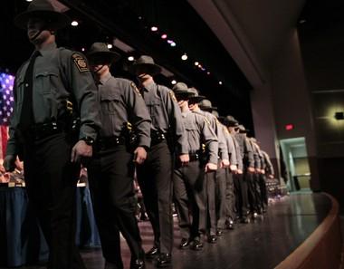 State police cadets at a graduation ceremony in 2011. DAN GLEITER | dgleiter@pennlive.com