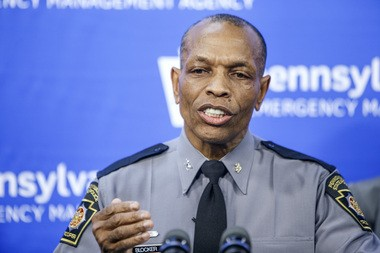 State Police Commissioner Col. Tyree Blocker