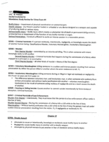 An example of a study guide handed down from the 141st cadet class through to the 144th.