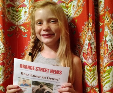 Hilde Kate Lysiak, a 9-year-old reporter, recently wrote about a suspected murder in her small Pennsylvania town and is defending herself after some locals lashed out about a young girl covering violent crime.
