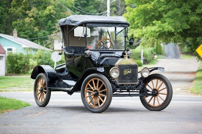 The Ford Model T, the car that sparked America's love affair with the automobile.