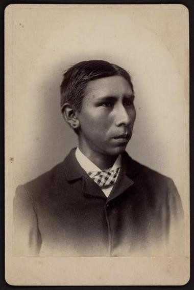 Max Spotted Tail, a Sioux boy from Rosebud, South Dakota, was among the more than 10,000 American Indian youth who were taken from their families and forced to attend the Carlisle Indian Industrial School in Carlisle in the latter part of the 19th century and early part of the 20th century.