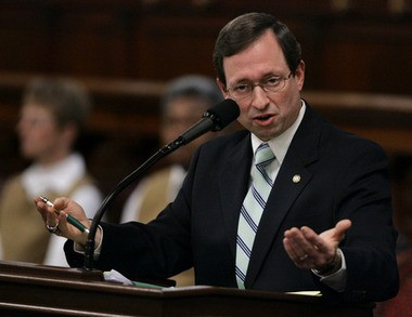 Sam Rohrer, president of the American Pastors Network, is making a Biblical case for why Hillary Clinton is unfit to be president because she is a woman. This file photo was taken in the Pennsylvania General Assembly in 2008.