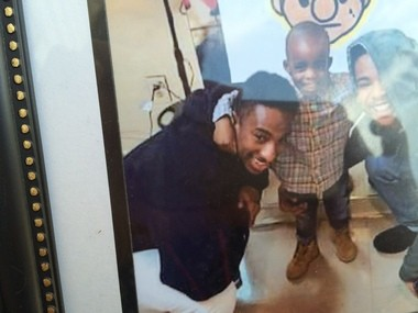 Kim Thomas, the mother of Earl Pinckney (left), said her son was bipolar but not dangerous. Pickney was killed Sunday night during a police incident. Police had responded to reports of domestic disturbance.