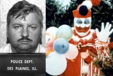 Infamous serial killer John Wayne Gacy loved dressing up as a clown. Perhaps that should tell you something right there...