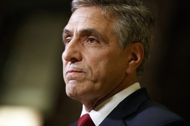 "Rep. Lou Barletta, R-Pa.,on Monday said the negative reaction to President Trump's executive order is understandable, ""because people are not used to a president who intends to enforce the borders of the United States. It is the president's job to protect the American people."" (AP Photo/Evan Vucci)"