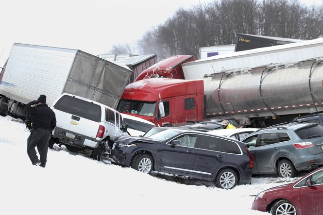 I-78 fatal pileup anniversary: Recreating the crash - pennlive com