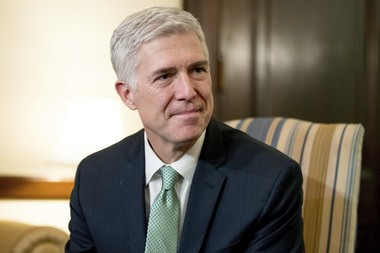 Supreme Court Justice nominee Neil Gorsuch will need the support of Senate Democrats to win confirmation. (AP Photo/Andrew Harnik)