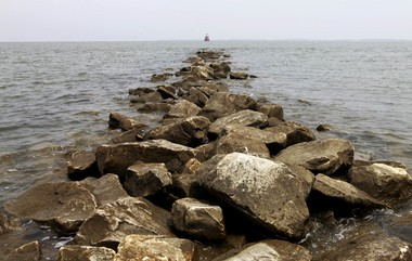 The Environmental Protection Agency in 2010 ushered in a strategy to restore the Chesapeake Bay, a year after then-President Obama issued an executive order to do so. The Chesapeake Bay is seen here from Sandy Point State Park in Annapolis, Md. (AP Photo/Jacquelyn Martin)