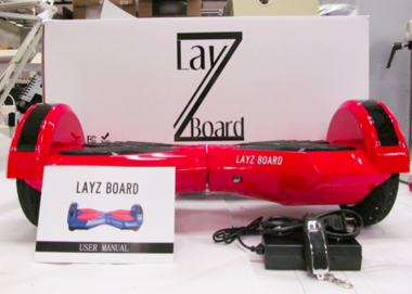 The CPSC is urging people to stop using and charging their LayZ Boards. The hoverboard poses a fire hazard to customers.
