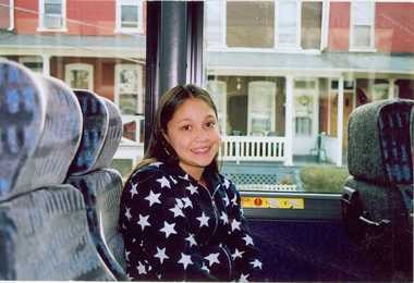 Analisa Ramos as a young teenager