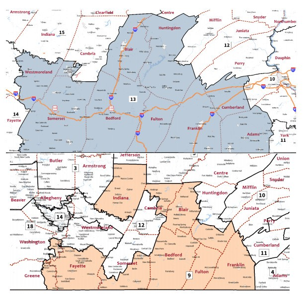 Your Congressional district will change: A look at the Pa