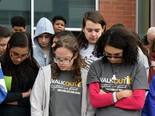Middletown Area High School walkout.