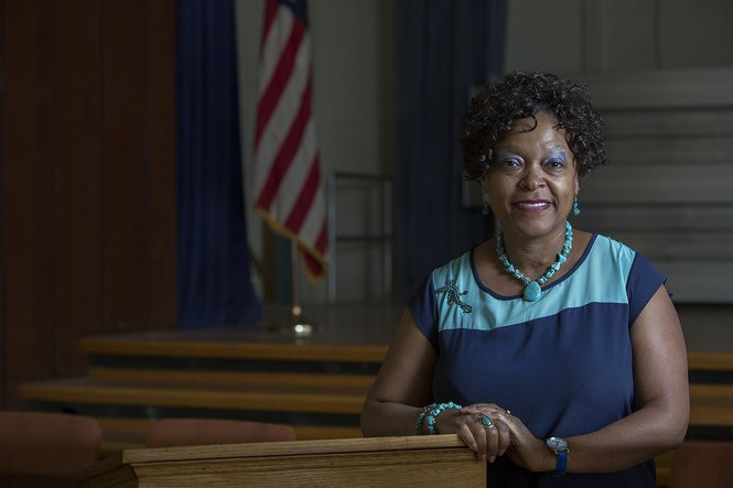 Sybil Knight-Burney has been superintendent of the Harrisburg School District since 2011. Her contract expires in June, and the school board recently voted to open up the search for other candidates. She is shown in this 2014 PennLive photo.