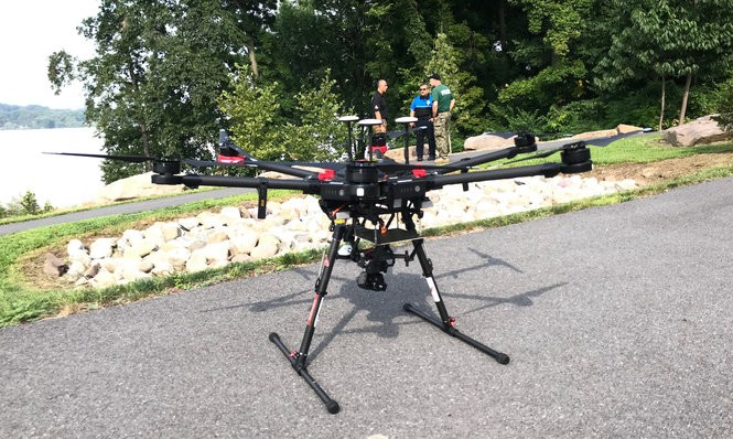 Dauphin County officials unveil a new drone for use by law enforcement.