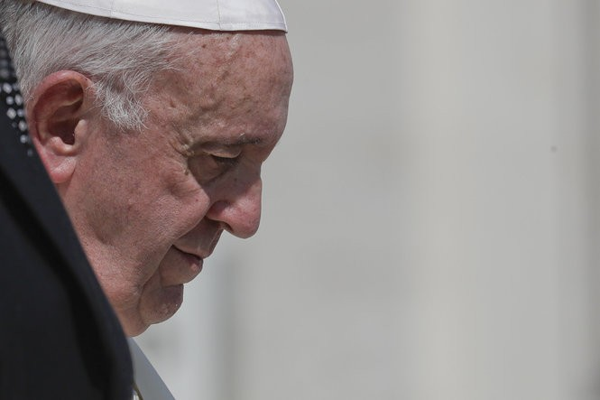 Complex and esoteric international law virtually renders the Vatican, and the head of the Catholic Church, Pope Francis, impervious to lawsuits involving clergy sex abuse. (AP Photo/Andrew Medichini)