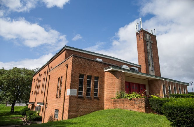 The former St. John the Evangelist Church in Swatara Township, which was closed in the 1990s and now is used by another denomination.