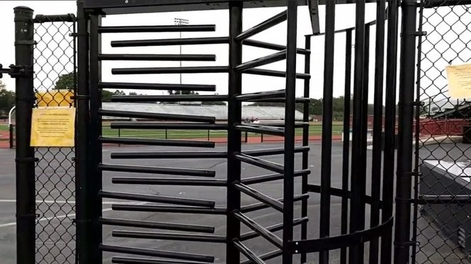 Central Dauphin administrators say the turnstile into Landis Field will be clocked starting Sept. 15..