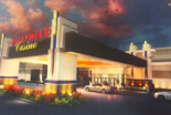 Artist's rendering of the proposed Hollywood Casino York.