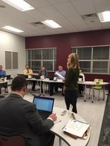 Two students with the Mechanicsburg Christians in Action club, who declined to publicly share their names, spoke to the school board on Tuesday night.