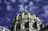 The Senate approved a GOP pension reform plan Wednesday.