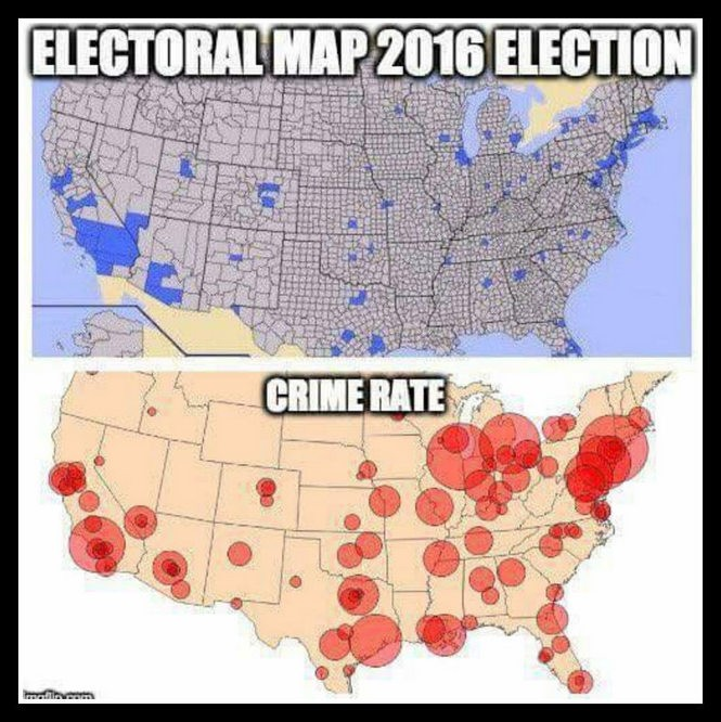 That viral map comparing the 2016 election results to the 2013 crime on christianity map, guantanamo map, socialism map, energy map, virginia delegates district map, history map, terrorism map, donald trump map, federal reserve map, corruption map, chicagoland map, democratic map, 2012 electoral map, foreign policy map, jobs map, islam map, united nations map, global warming map, government map,