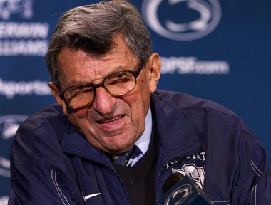 Joe Paterno. JOE HERMITT, The Patriot-News, 2011