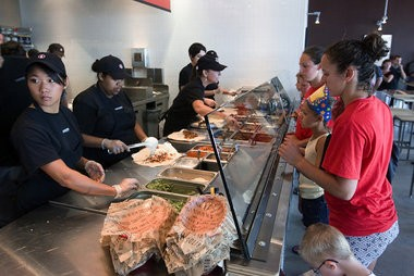 Chipotle Mexican Grill.