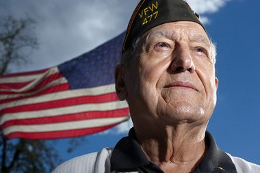 Sam Lombardo, an Army veteran who saw extensive combat in Europe during World War II, opposes the decision.