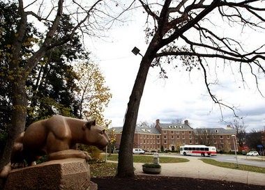 The Nittany Lion Shrine, at Penn State University. FILE PHOTO: CHRIS KNIGHT, The Patriot-News