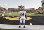 Penn State center Matt Stankiewitch before the start of the game at Kinnick Stadium. JOE HERMITT, The Patriot-News