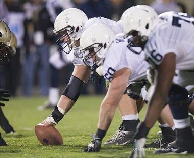 Penn State center Matt Stankiewitch during the fourth quarter against Purdue at Ross-Ade Stadium. Penn State beat Purdue, 34-9.