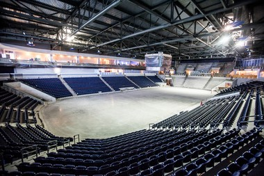 Pegula Ice Arena construction is underway and slated to open in the fall of 2013. The $88 million arena will be about 200,000-square foot, 6,000-seat, state of the art facility. Christine Baker | cbaker@pennlive.com