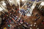 The Pennsylvania NAACP led a voter ID rally at the State Capitol Rotunda on Thursday, July 11, 2013. Christine Baker | cbaker@pennlive.com