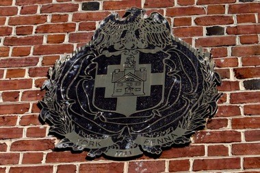 Seal for York City, as displayed on the York City Hall. JULIA HATMAKER | jhatmaker@pennlive.com