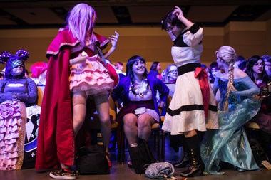 Zenkaikon 2015 at the Lancaster County Convention Center. The annual celebration of anime, comics, games, science fiction, and fandom. Sean Simmers, PennLive.com. March28 2015.
