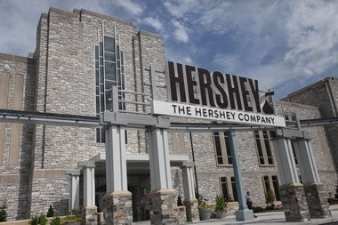 The Hershey Company's 19 East Office had its grand opening on Aug. 6, 2015. Utilizing aspects of the original chocolate factory as art, the new, modern interior is the home to the Global Shared Services, Global Marketing, Global Knowledge and Insights divisions of the company.