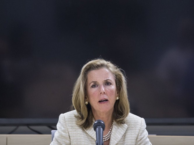 Katie McGinty, Democratic candidate for U.S. Senator from Pennsylvania, meets with PennLive Editorial Board.
