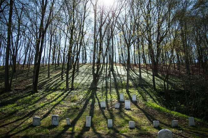 The Newport Cemetery recently digitized their grave records, which had previously been recorded on window blinds Sean Simmers, PennLive.com April 13, 2016