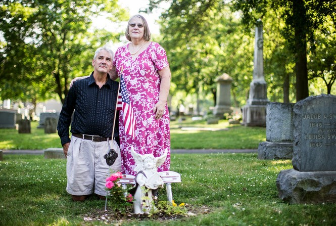 Claudia and Paul Whittaker's father, DeWitt Whittaker, was a 92-year-old nursing home resident with dementia who was allowed to get outside a nursing home in Doylestown, Bucks County, and roll down the front steps in his wheelchair to his death. Sean Simmers, PennLive.com June, 17, 2016