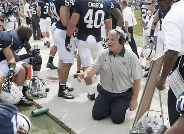 Penn State defensive coordinator Ted Roof is leaving the Lions program after one year to take the Georgia Tech defensive coordinator position. Roof was a standout linebacker at Ga. Tech in the early 1980s.