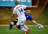 Tom Mellor, shown last season in a game against the Richmond Kickers, netted the lone goal Wednesday night for the USL PRO Harrisburg City Islanders.
