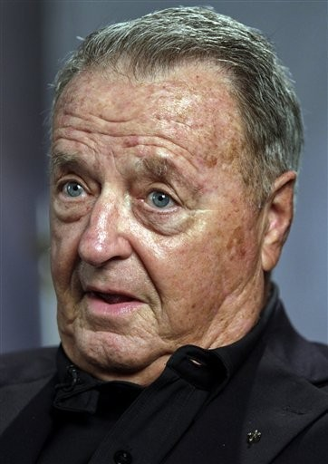 This Aug. 24, 2010 file photo shows former Florida State college football coach Bobby Bowden during an interview in New York.
