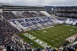 """Penn State fans spell out """"Thank You Seniors"""" on Senior Day at Beaver Stadium. SEAN SIMMERS, The Patriot-News"""
